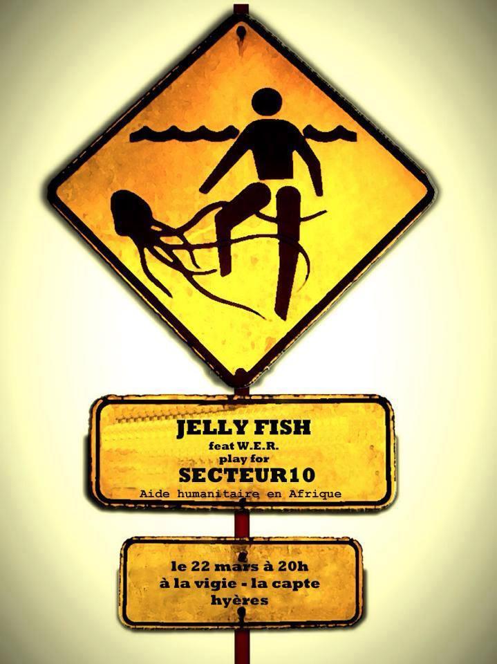 Jellyfish concert de charité