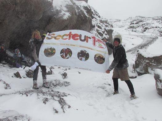 secteur10 au sommet du Kilimandjaro