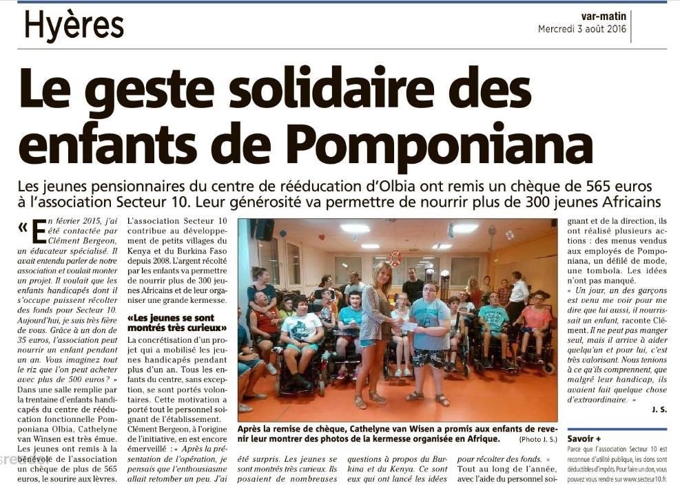 Pomponiana Olbia pour Secteur10
