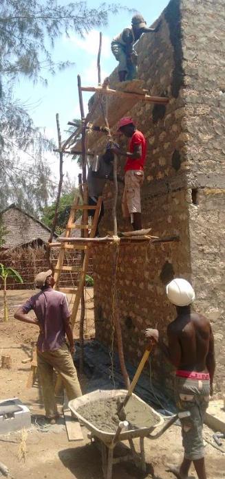 ferme de spiruline en marche au Kenya