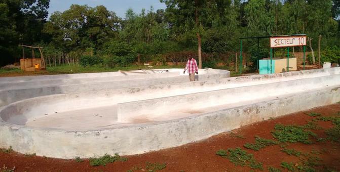 ferme spiruline Burkina Faso - production arrêtée