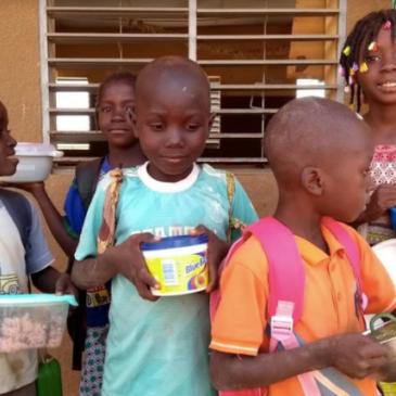 Notre soutien à l'école primaire au Burkina Faso