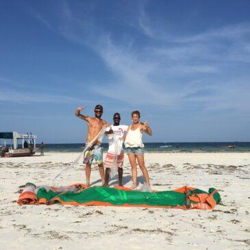 Partenariat école de kite au Kenya pour Secteur10